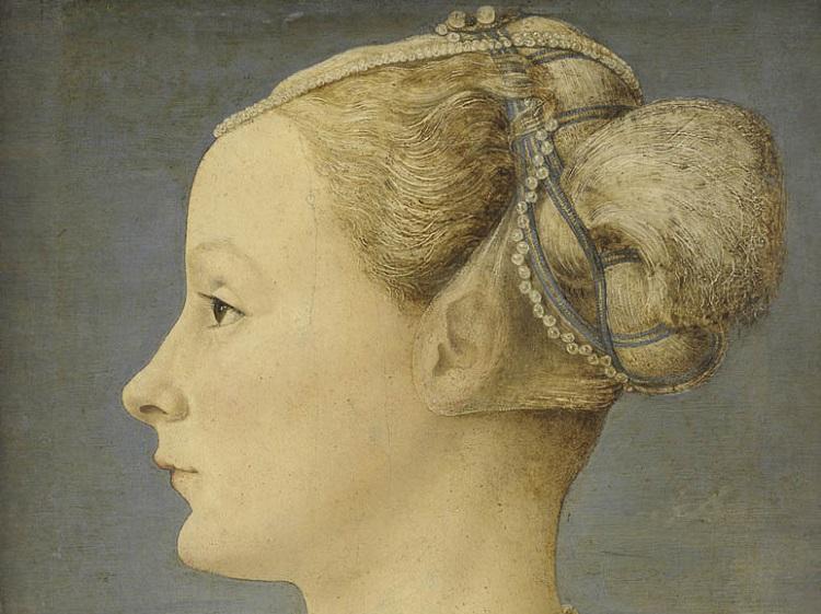 1 Pollaiolo Ritratto di giovane donna Milano Poldi Pezzoli