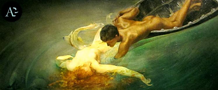 The Siren | Giulio Aristide Sartorio