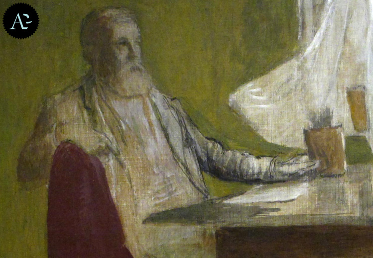 Self-portrait | Arnold Böcklin