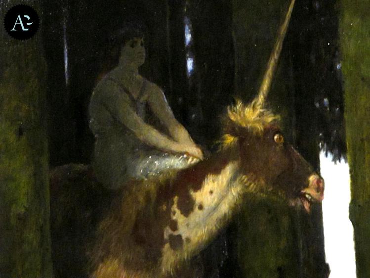 Il silenzio della foresta | Arnold Böcklin | Simbolismo | mostre Milano