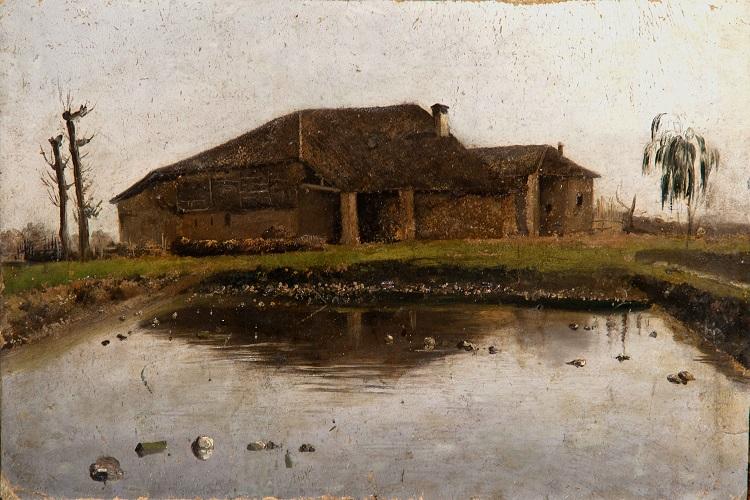 Luigi Bertelli (Bologna, 1832 - 1916) Il macero, 1875/1885 Pinacoteca Nazionale di Bologna inv. 1343