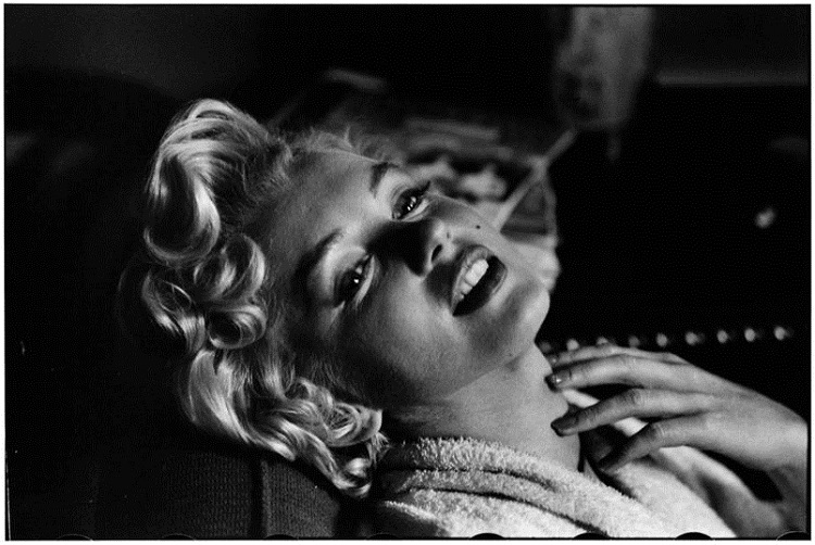 Elliott Erwitt Marilyn Monroe. New York. 1956
