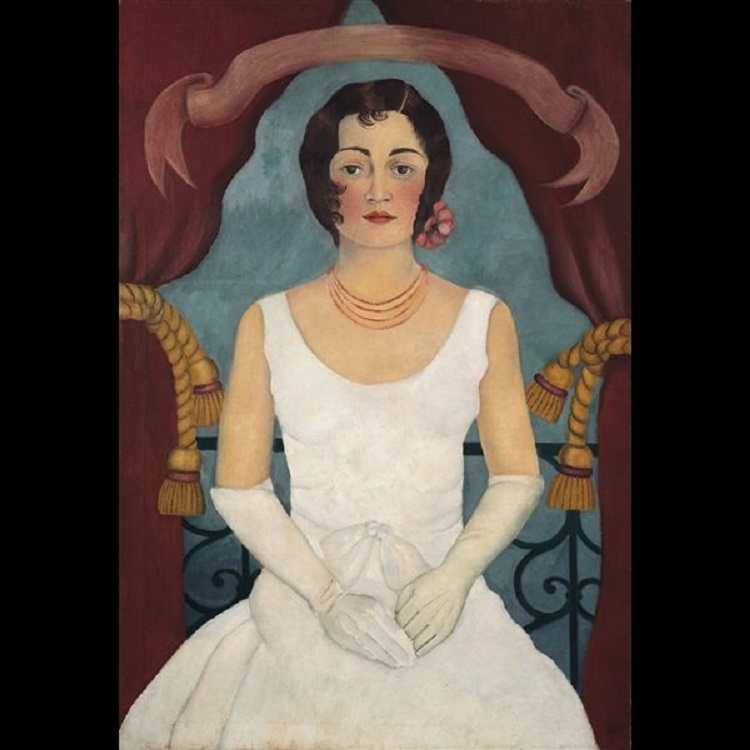 Ritratto di una signora in bianco, 1929 ca. © Collezione privata, Germania, by SIAE 2014