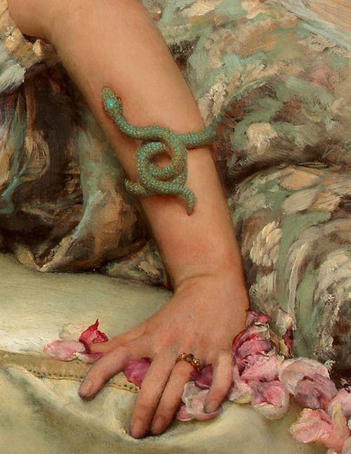 Le rose di Eliogabalo | Lawrence Alma Tadema | dettaglio