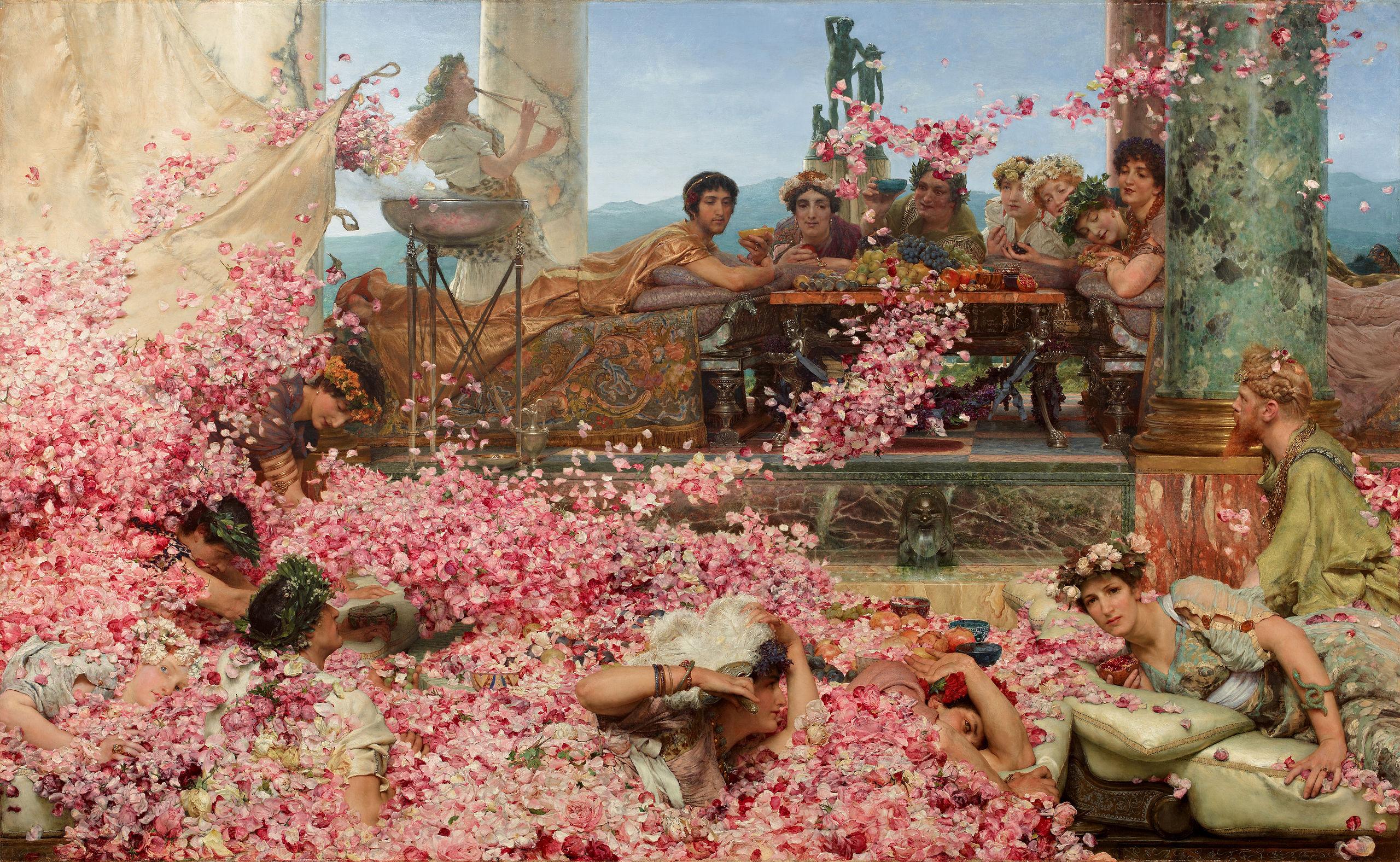 Le rose di Eliogabalo | Lawrence Alma Tadema