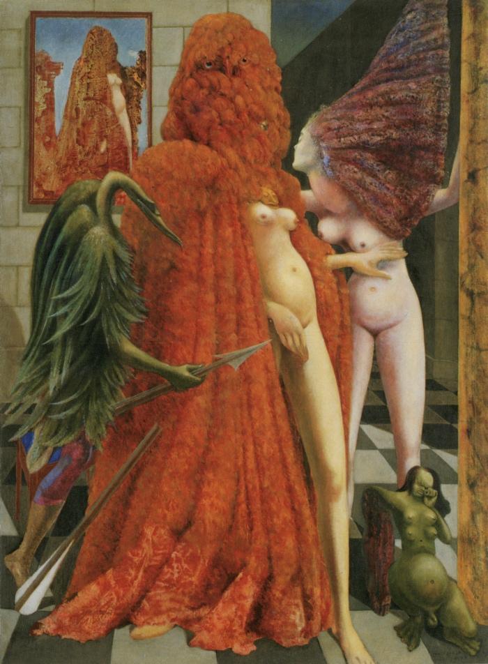 Max Ernst | la vestizione della sposa