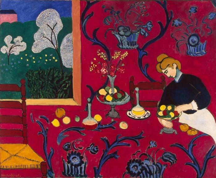 Matisse | stanza rossa