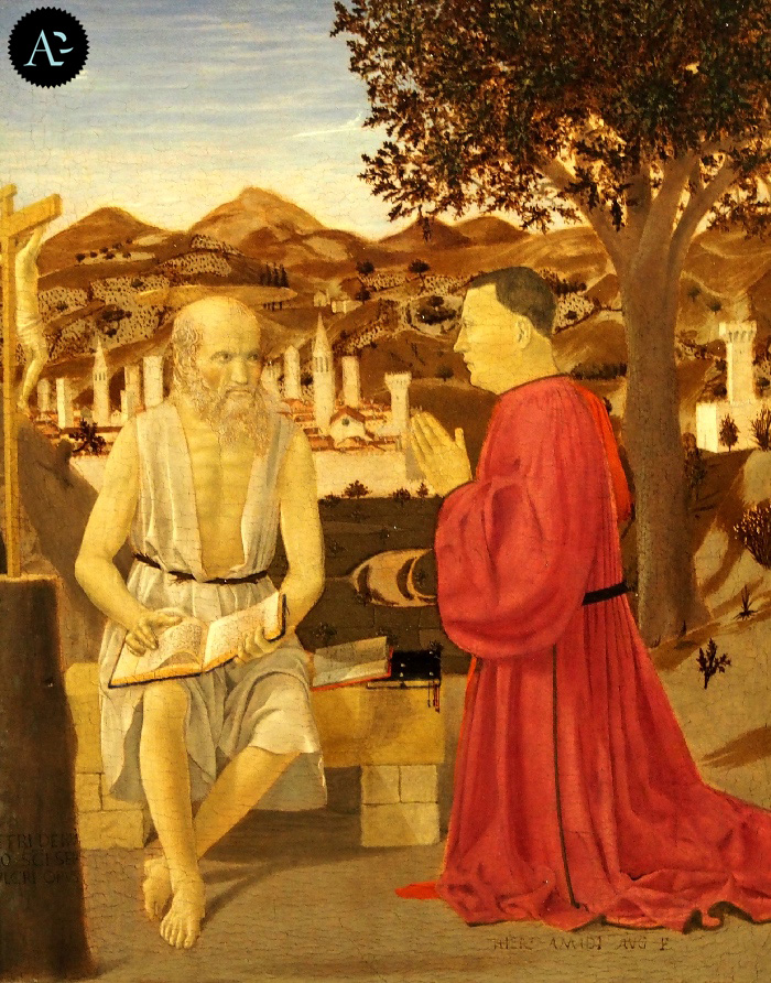 Piero della Francesca | San Girolamo e un devoto