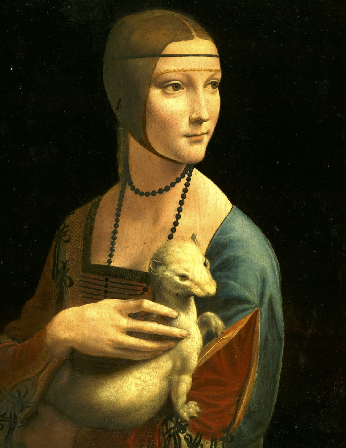 Lady with an Ermine | Leonardo da Vinci