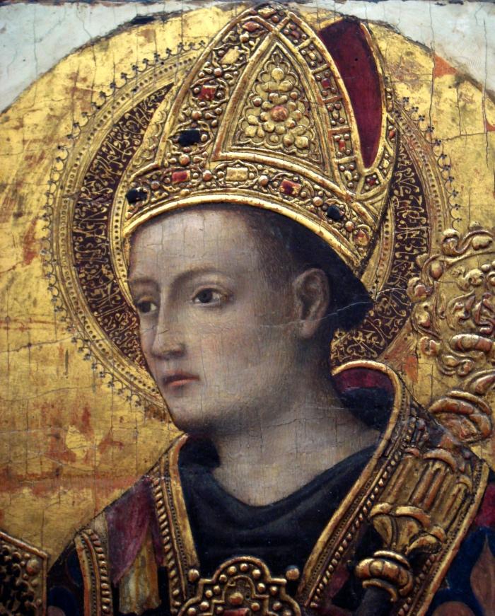 Portrait of St. Louis of Toulouse | Antonio Vivarini
