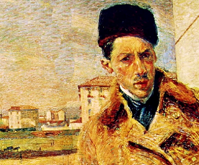 Umberto Bocconi | Self Portrait
