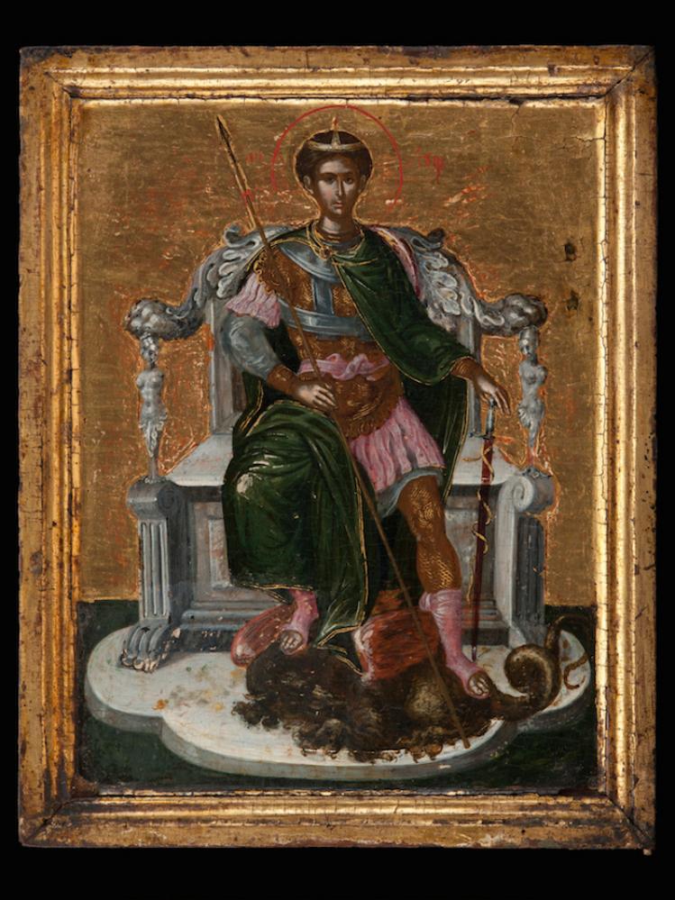 San Demetrio   El Greco