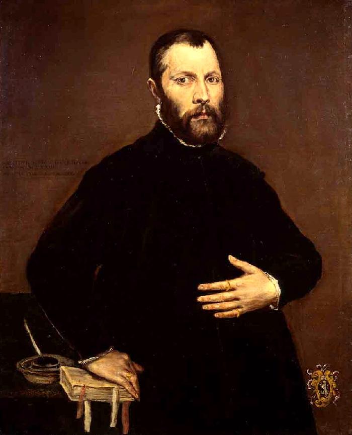 El Greco   Ritratto di gentiluomo