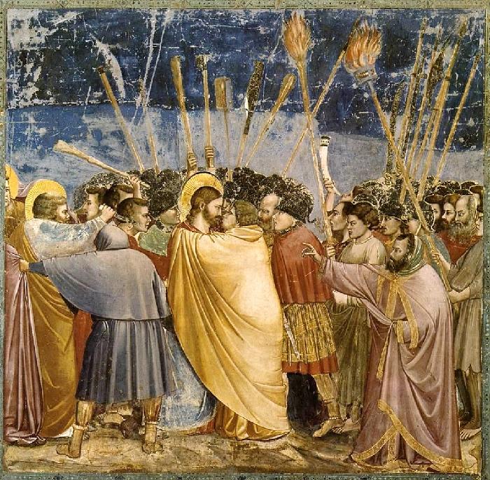 Giotto | Bacio di Giuda | Cappella Scrovegni