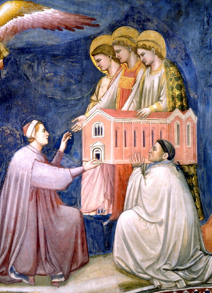 Enrico gives Scrovegni Chapel