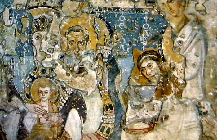 frescoes | Church of Santa Maria Antiqua