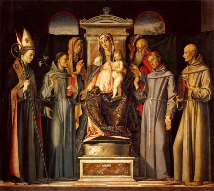 sacra conversazione | Alvise Vivarini