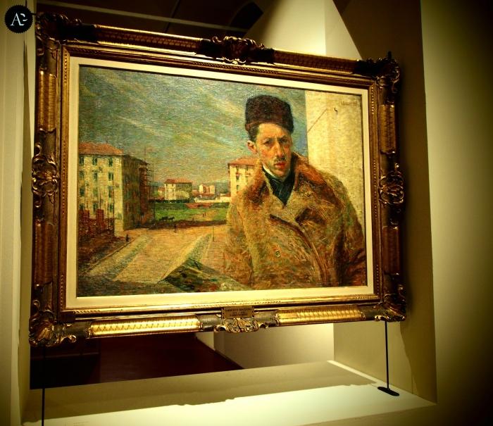 Umberto Boccioni | Autoritratto | mostre Milano