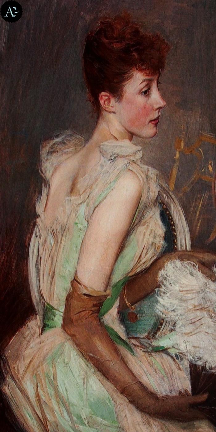 Giovanni Boldini | Countess de Lesse