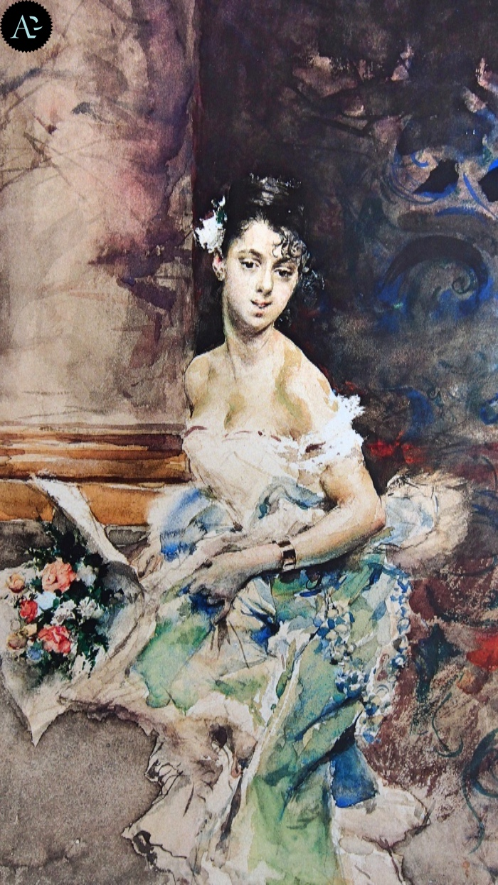 Giovanni Boldini | young lady
