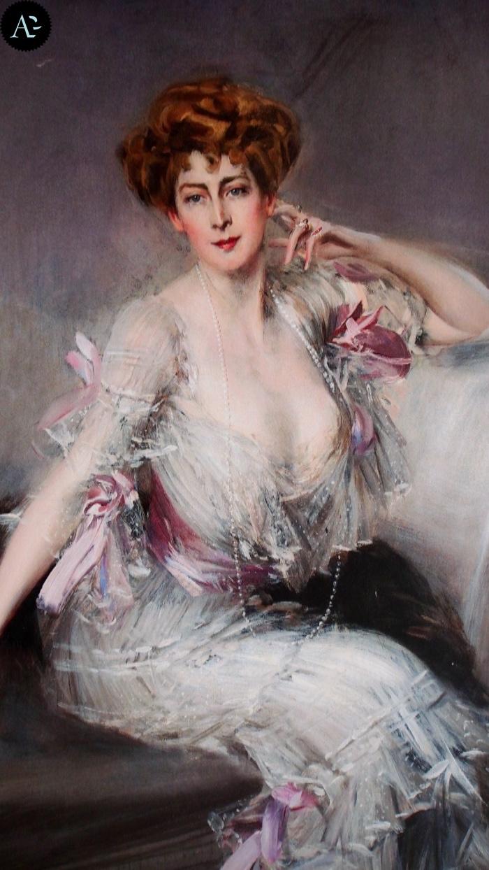 Giovanni Boldini | Anna Elizabeth Hansen