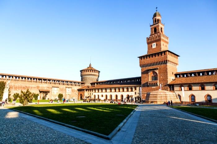 torre Filarete | castello Sforzesco