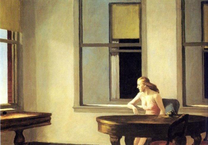 Edward Hopper | Sole in città
