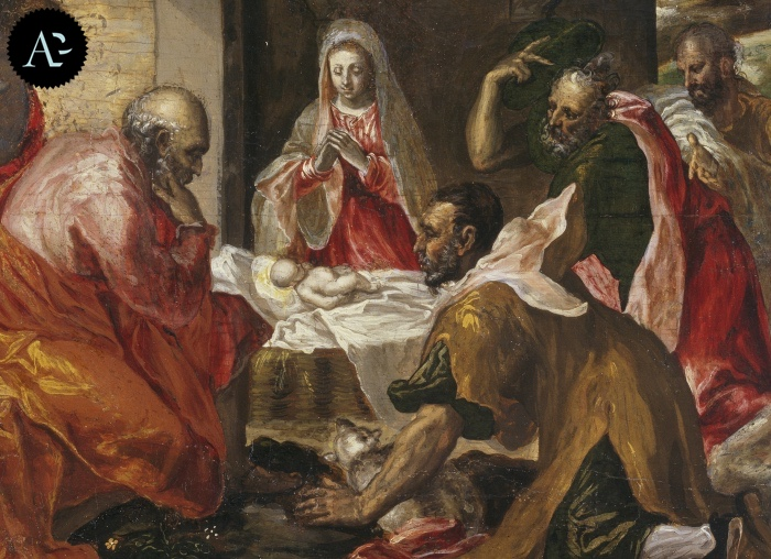 El Greco | Adoration of the Shepherds