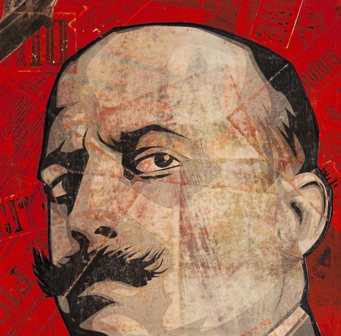 Filippo Tommaso Marinetti Portrait