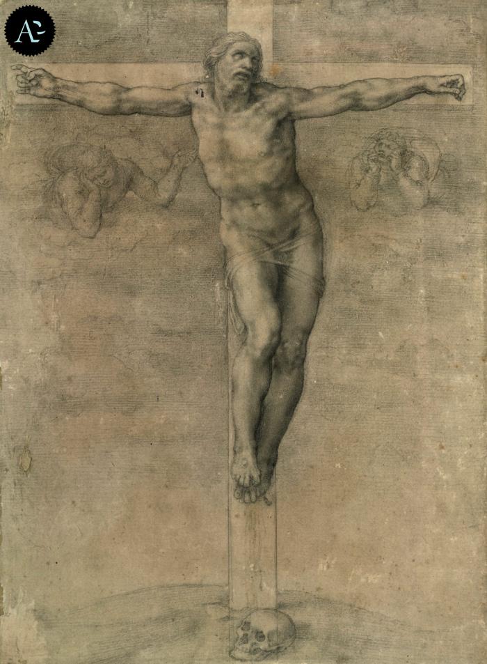 Crocifissione per Vittoria Colonna | disegno Michelangelo