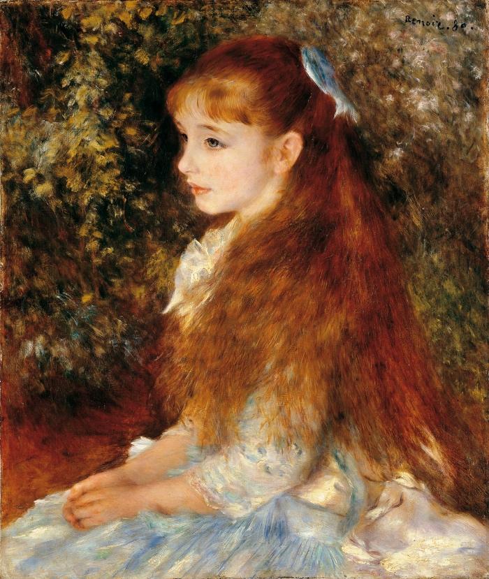 Pierre Auguste Renoir | la piccola Irene
