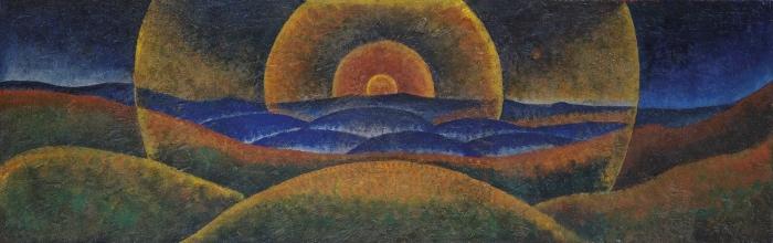 Gerardo Dottori | sunset