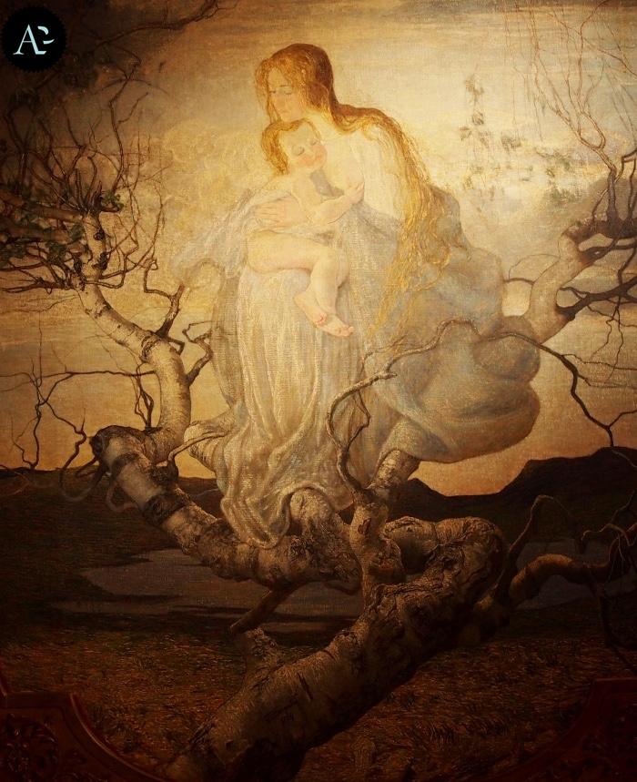 Giovanni Segantini | Angelo della vita