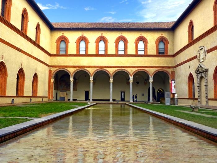 Corte ducale | castello Sforzesco