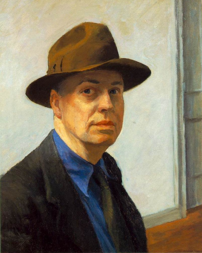 Hopper | self-portrait
