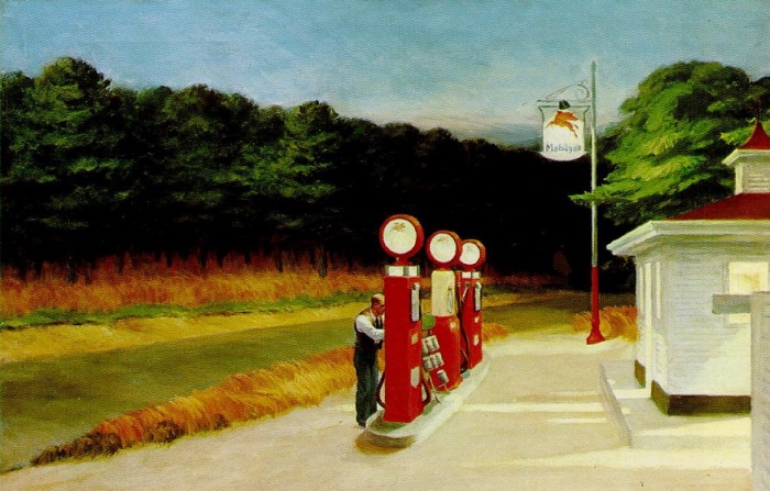 Hopper | Gas