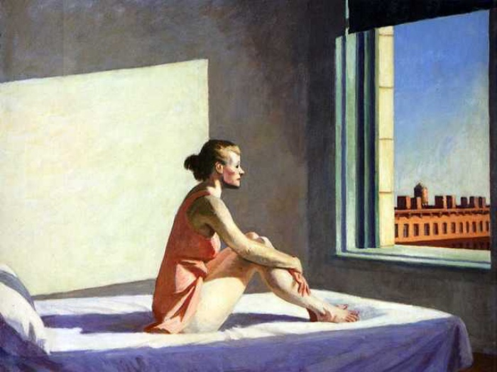 Edward Hopper | Morning Sun