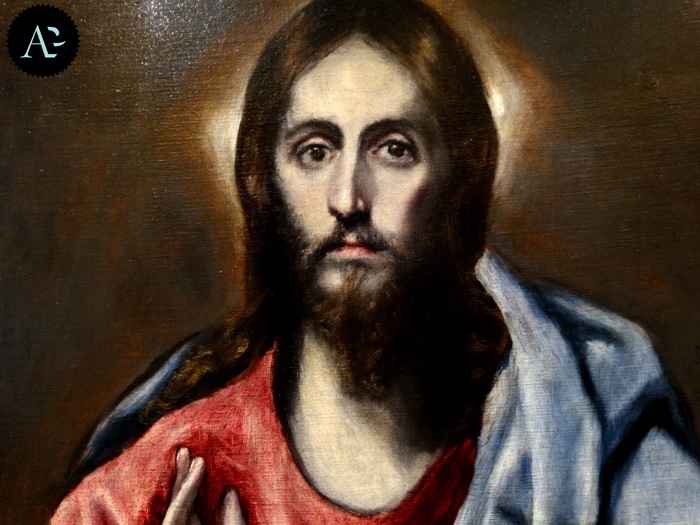 El Greco | Christ Blessing | The Saviour of the World