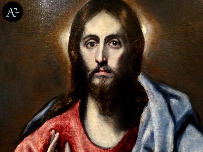 El Greco | Salvatore benedicente | Salvator Mundi