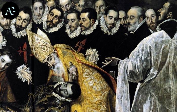 El Greco | Sepoltura del conte di Orgaz