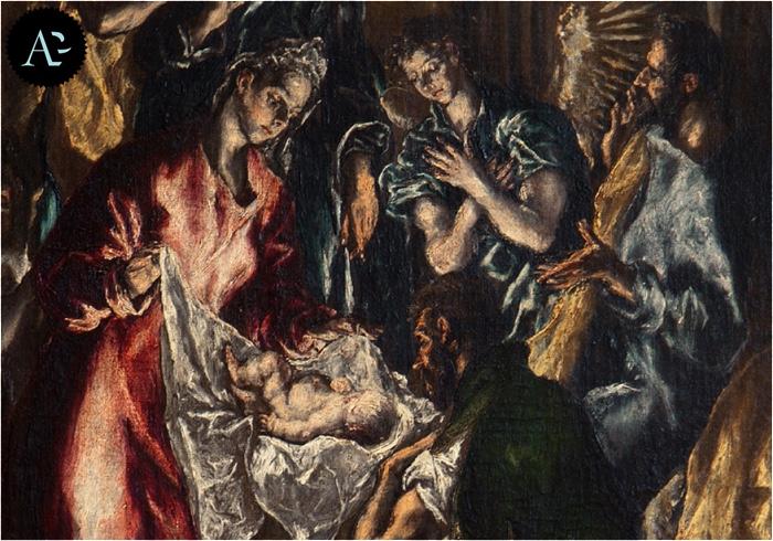 El Greco | Adorazione dei pastori