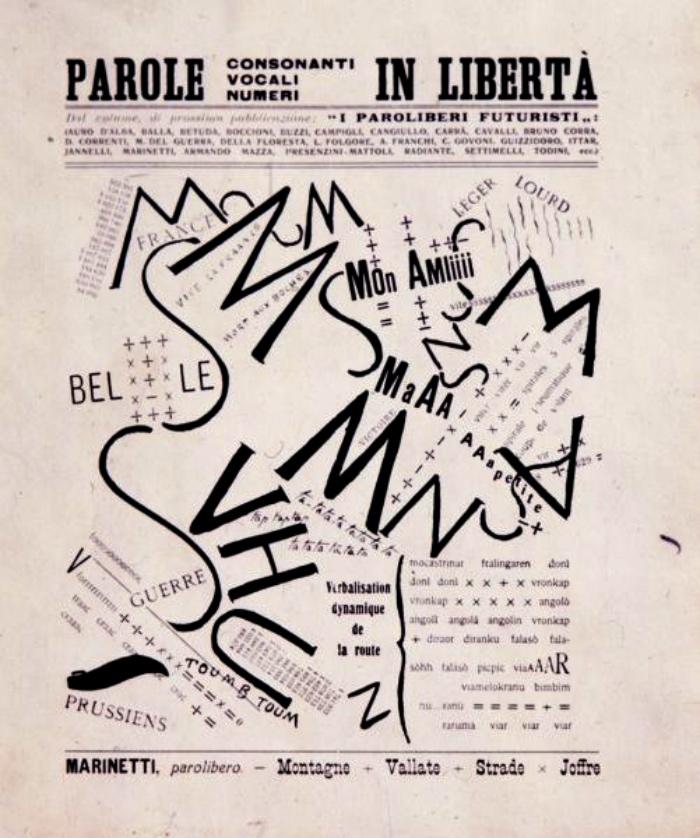 Parole in Libertà | Filippo Tommaso Marinetti