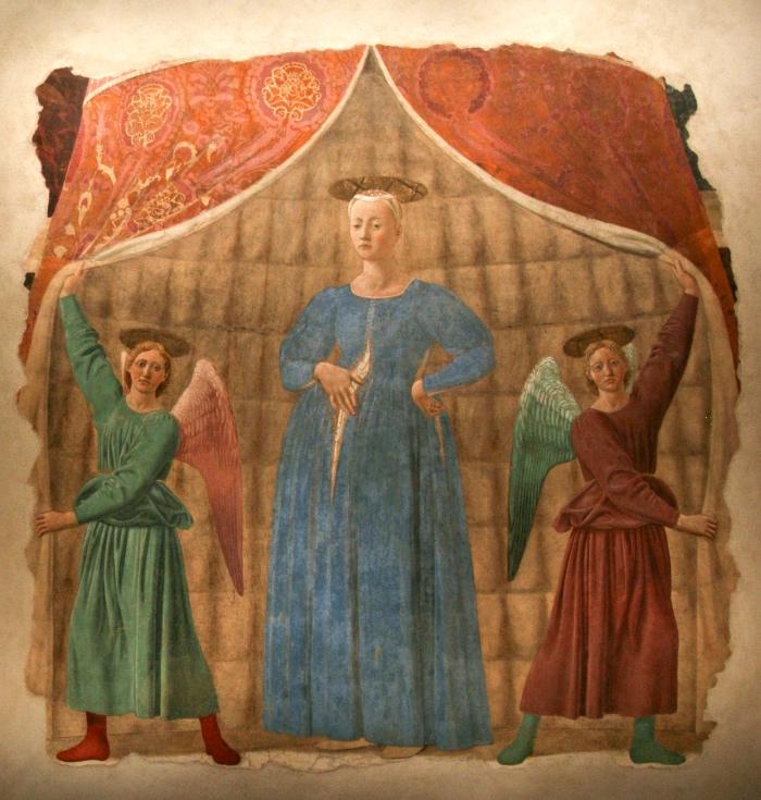 Madonna del parto   piero della francesca