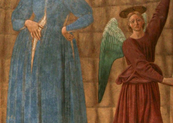 Madonna del Parto   angelo