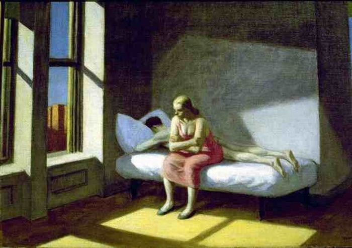 Edward Hopper | Summer in the city