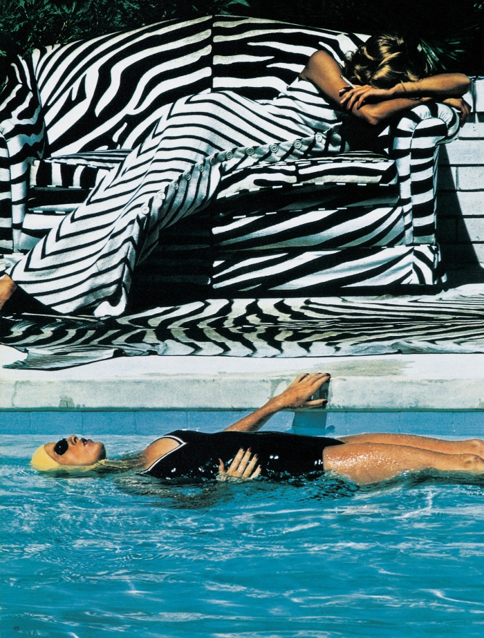 French Vogue | Helmut Newton