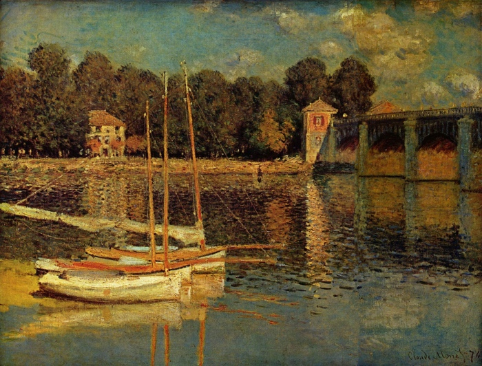 Claude Monet | The bridge at Argenteuil
