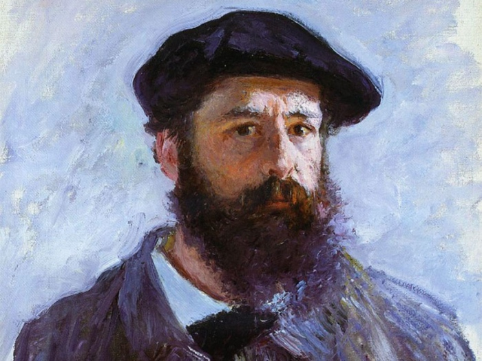 Claude Monet |autoritratto