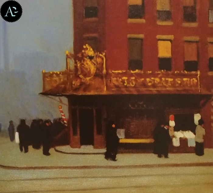 Angolo di New York | Edward Hopper