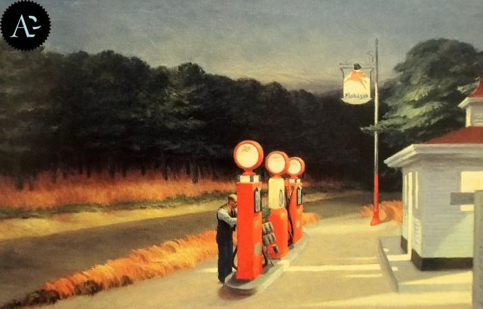 Gas| Edward Hopper